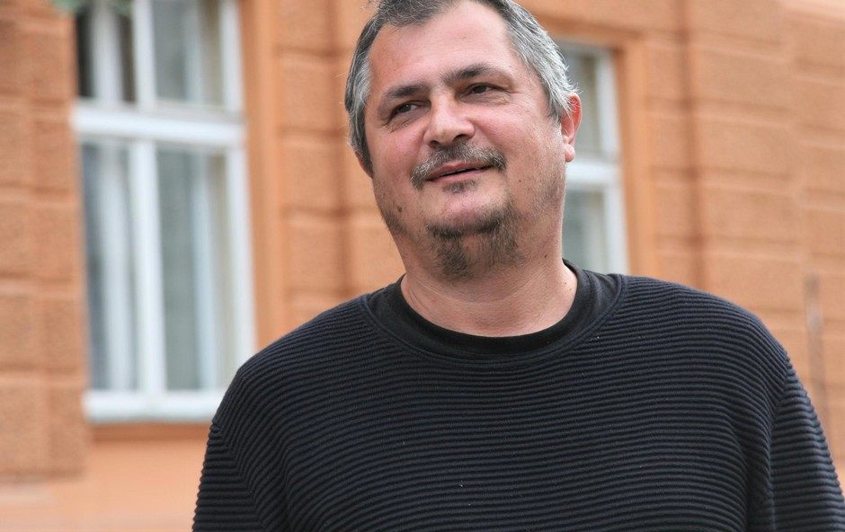 Dušan Čater bi bil brez pisanja gozdar ali mizar (foto: Foto: Lena Kreutz)