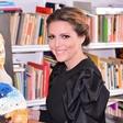 Patricija Simonič, soproga Giannija Rijavca, je slikarka in ekonomistka v enem