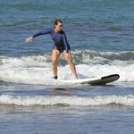 Brooke zelo rada športa, med počitnicami se je učila tudi deskati na valovih. (foto: Foto: Profimedia)