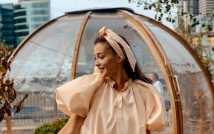 Sanja Grohar Kovič iz Londona z linijo oblačil (in svojo poletno obleko)
