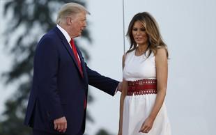 Melania Trump s čudovitim stajlingom pritegnila pozornost: Vse oči so bile uprte samo vanjo!