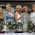 Amanda Seyfried, Meryl Streep, Agnetha Faltskog, Annifrid Lyngstad in Christine Baranski. (foto: Foto: Profimedia)