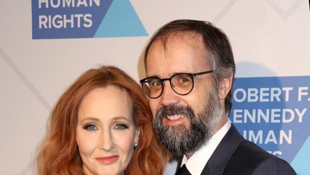 JK Rowling z možem Neilom Murrayjem (foto: Foto: Profimedia)