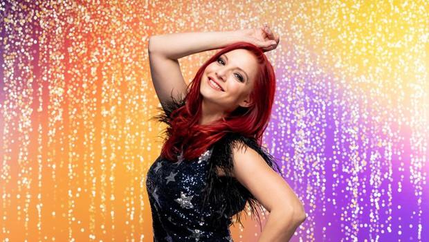 Tanja Žagar očarala s tem prizorom: Ima res drugačno barvo las? Kaj pravite? (foto: POP TV)