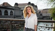 Sandali Ane Tavčar Pirkovič so poželi veliko pozornosti, res so čudoviti in nevsakdanji!
