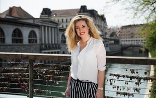 Ana Tavčar Pirkovič navdušila v prosojni bluzici, ki popestri omaro vsake ženske