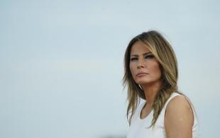 Nova biografija o Melanii Trump: Prva dama, ki noče biti rešena
