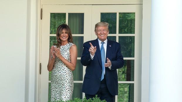 """Melania Trump je v Beli hiši pustila svojo sled, a vsi niso zadovoljni: Dežurni kritiki spet """"v luftu"""" (foto: Profimedia)"""
