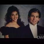 Kim in njen oče Robert Kardashian. (foto: Foto: Profimedia)