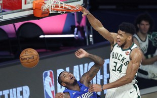 Drugo leto zapored najkoristnejši igralec v NBA Antetokounmpo, Dončić četrti
