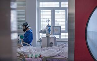 V UKC Ljubljana na intenzivni terapiji osem bolnikov, najmlajši ima 47 let