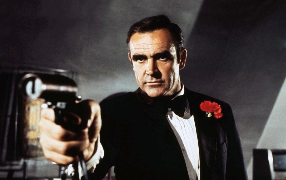 Leta 1971 Sean Connery v filmu Dijamanti so večni. (foto: Foto: Cinema Legacy Collection/The Hollywood Archive)
