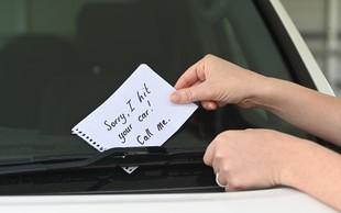 Najbolj inovativna sporočila, ki so jih ljudje zataknili za brisalce (slabo) parkiranih avtomobilov