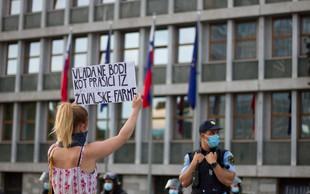 Protest na protest; 20 njih, haska pa od nikoder. Zakaj?