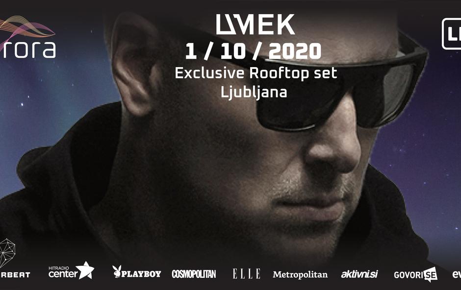 Aurora in DJ UMEK jutri, 1. oktobra, prvič nad Ljubljano! (foto: Promocijsko gradivo)