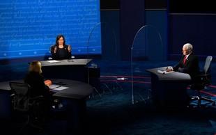 Podpredsedniško soočenje v bolj civiliziranem tonu pokazalo razliko med demokrati in republikanci