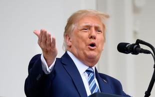 Donald Trump po okužbi prostodušno razglaša, da je imun na covid-19