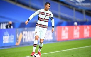 Cristiano Ronaldo pozitiven na koronavirus, moral bo izpustiti tekmo