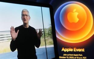 Apple predstavil nove telefone s 5G tehnologijo