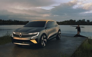 Renault predstavil Megane eVision, prvi pravi električni družinski avtomobil (svetovna premiera)
