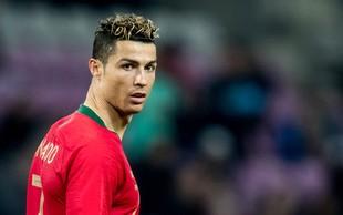 Ronaldo kljub covidu-19 s posebnim letalom nazaj v Italijo, karanteno nadaljuje v Torinu