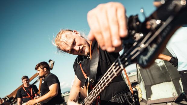 Spoznajte slovensko skupino Imset: Rockerji z disciplino (foto: Foto: Luka Ažman)