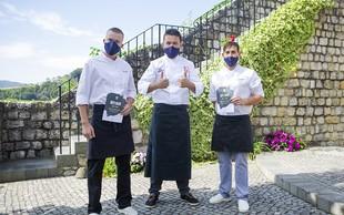 Za svetovni dan hrane kuhali iz 68 kg sestavin - da bi pokazali, koliko obrokov letno v povprečju zavrže vsak Slovenec