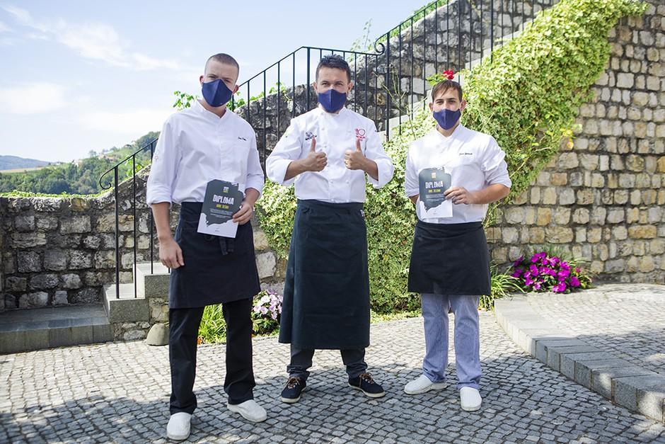 Za svetovni dan hrane kuhali iz 68 kg sestavin - da bi pokazali, koliko obrokov letno v povprečju zavrže vsak Slovenec (foto: Spar)