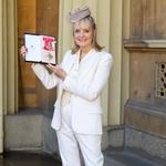 Lesley Lawson - Twiggy je 14. marca 2019 ponosno prejela naziv britanskega viteškega reda - dama. (foto: Foto: Paul Davey)