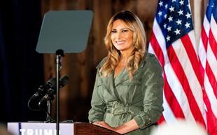 Eden in edini nastop Melanie pred volitvami, med katerim je obtožila Bidna, da ima socialistično agendo