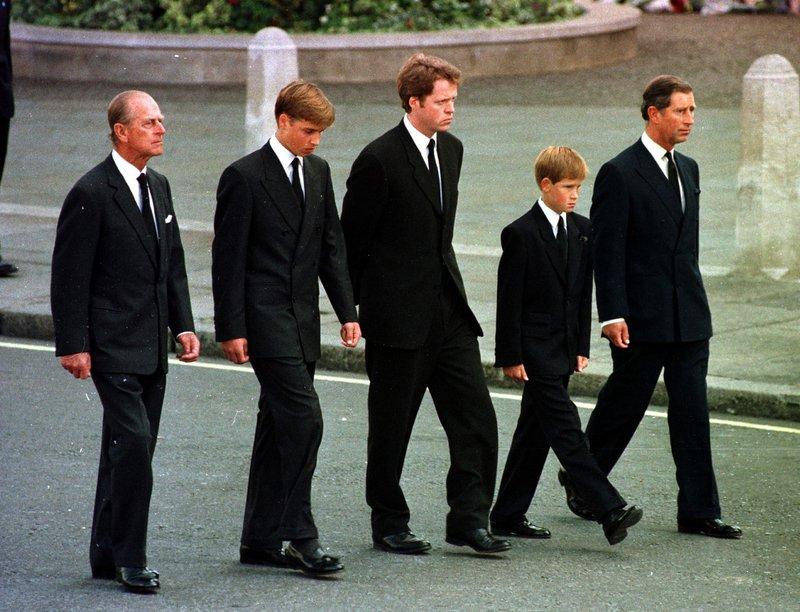 pogreb princese Diane