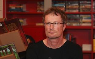 Pisatelj Tadej Golob kmalu s svojim prvim intervjujem po nesreči