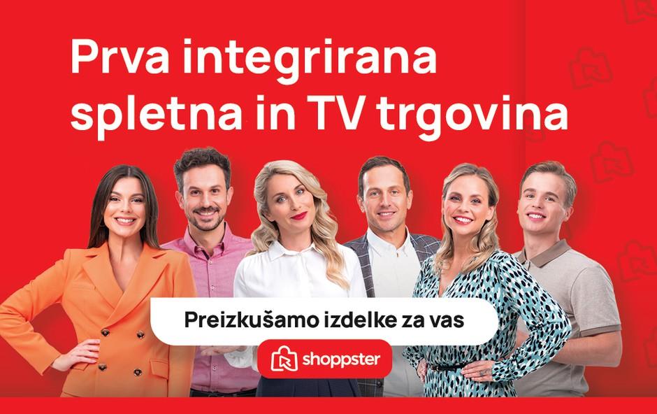 Tukaj je Shoppster – prva spletna in televizijska trgovina v Sloveniji! (foto: Shoppster)
