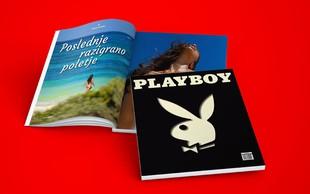 Revija Playboy se poslavlja tudi iz Slovenije, zato ne spreglejte zadnje zbirateljske številke