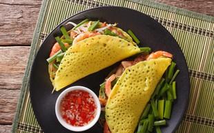 Okusne vietnamske palačinke (Banh Xeo): Azijski pridih v vašem domu!