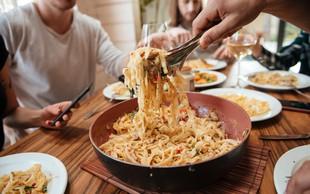 Večina Slovencev dela te štiri velike napake pri kuhanju testenin