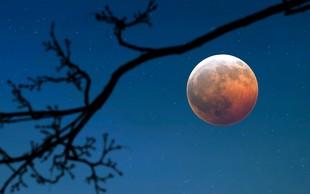 V ponedeljek nastopi lunin mrk, ki deluje kot izredno močna polna luna