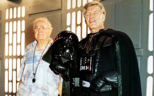 Poslovil se je David Prowse, legendarni Darth Vader iz Vojne zvezd