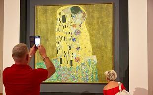 Radodarna zakonca muzeju podarila Klimtovo sliko, vredno 475.000 evrov