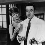 S snemanja filma The Millionairess. Sophia Loren in Peter Sellers, ki je zaradi igralke zapustil ženo. (foto: Foto: Profimedia)