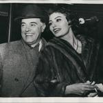 Sophia s soprogom Carlom Pontijem, ki je umrl leta 2007 zaradi težav s pljuči. (foto: Foto: Keystone Pictures Usa)
