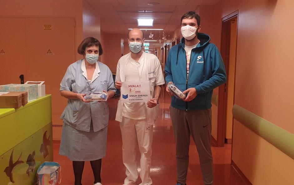 Dobrodelno: Varuh zdravja poskrbel za tri družbeno-odgovorne donacije (foto: Promocijsko gradivo)