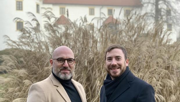 Jože (levo) in Darko Vidic (foto: Foto: Pr - Gradivo)
