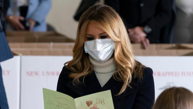 Melania Trump (spet) tarča kritikov, preverite, kaj so ji tokrat zamerili (foto: Profimedia)