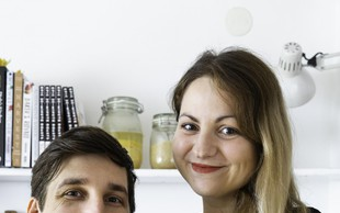 Kulinarična blogerja Maja in Jernej Zver: Poudarek je na druženju, ne darilih
