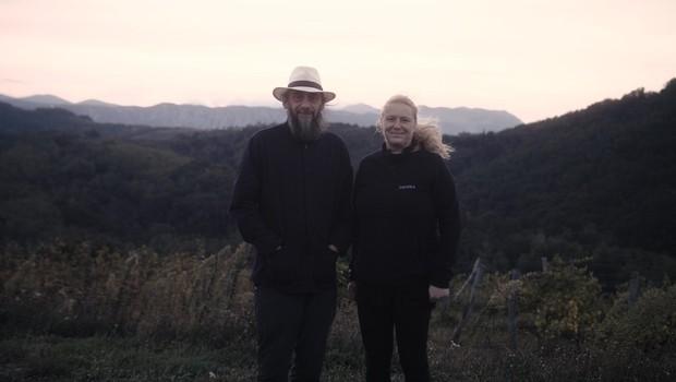 Vinarja Valter Kobal in Mojca Tiršek: V vinu je zgodba o strasti (foto: Foto: Oa)