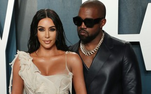 Kanye West in Kim Kardashian naj bi živela ločeno
