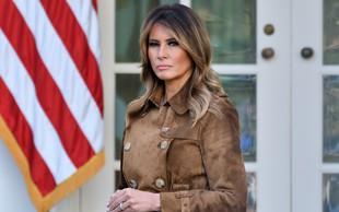 Melania Trump odhaja z rekordno nizko podporo med Američani
