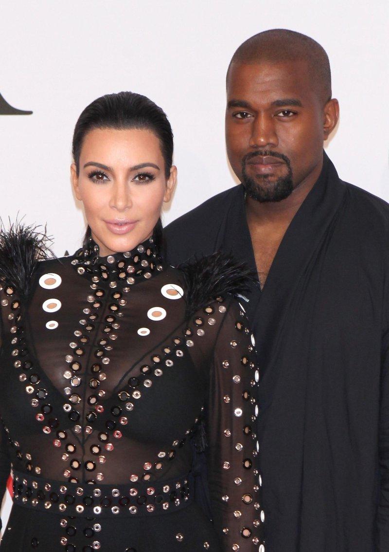 Kim in Kanye