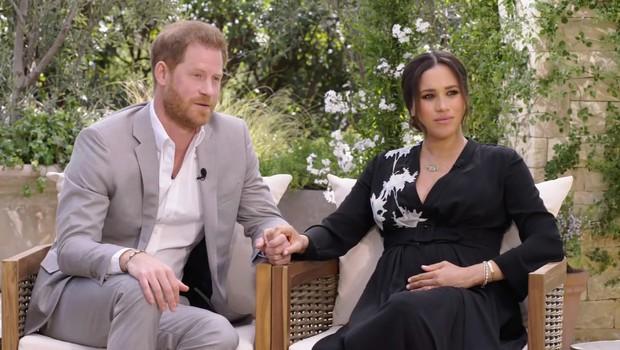 Princ Harry in Meghan v velikem intervjuju z Oprah Winfrey: Archie bo dobil sestrico (foto: Profimedia)